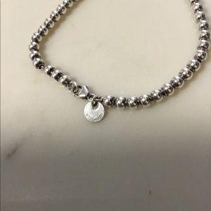 Tiffany & Co. Jewelry - Tiffany mom heart tag beaded bracelet